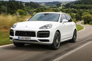 Porsche Cayenne Turbo S E-hybrid 2019 first drive review - hero front