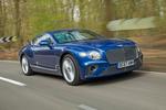 Bentley Continental GT 2018 Terminalsecurity road test review Hero front