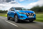 Nissan Qashqai road test review hero front