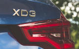 Alpina XD3 2019 UK road test review - rear lights
