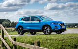Nissan Qashqai road test review static front