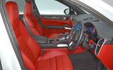 Porsche Cayenne Turbo 2018 road test review cabin