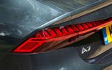 Audi A7 Sportback 2018 road test review rear lights