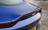 Aston Martin Vantage 2018 review lip spoiler