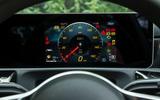 Mercedes-Benz A-Class 2018 road test review instrument cluster