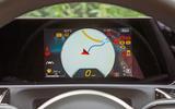 Mercedes-Benz A-Class 2018 road test review instrument cluster satnav