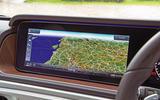 Mercedes-Benz G-Class 2019 road test review - navigation