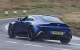 Aston Martin Vantage 2018 review hero rear
