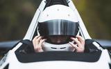 BAC Mono 2018 review - Richard Lane helmet