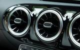 Mercedes-Benz A-Class 2018 road test review air vents