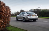 Lexus GS F rear cornering