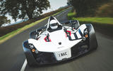 BAC Mono 2018 review - on the road nose