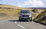 Kia Sorento 2018 road test review cornering front