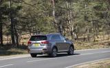 Kia Sorento 2018 road test review cornering rear