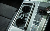 Audi A7 Sportback 2018 road test review cup holders