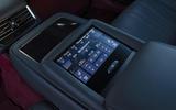 Lexus LS500h 2018 road test review centre console
