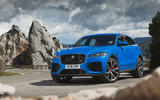 Jaguar F-Pace SVR 2019 first drive review - static front