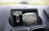 Aston Martin Vantage 2018 review infotainment parking cameras