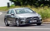 Mercedes-Benz A-Class 2018 road test review cornering