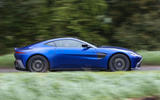 Aston Martin Vantage 2018 review on the road side