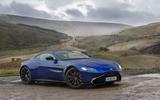 Aston Martin Vantage 2018 review hero static