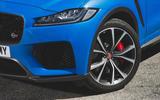 Jaguar F-Pace SVR 2019 first drive review - alloy wheels