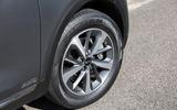 Kia Sorento 2018 road test review alloy wheels