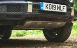 Mercedes-Benz G-Class 2019 road test review - skid plate
