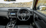 Nissan X-Trail road test review - dashboard