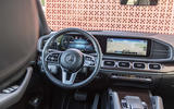 Mercedes-Benz GLE 2018 review - steering wheel