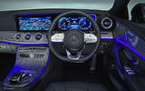 Mercedes-Benz CLS 400d 2018 review dashboard