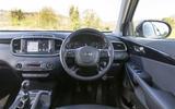 Kia Sorento 2018 road test review dashboard