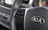 Kia Sorento 2018 road test review steering wheel controls