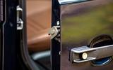 Mercedes-Benz G-Class 2019 road test review - door locks