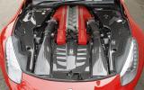 Ferrari F12 6.0-litre V12 engine