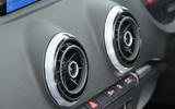 Audi A3 Saloon air vents