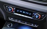 Audi Q5 climate controls