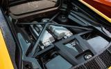 The 5.2-litre V10 engine in the Audi R8