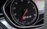 Audi RS6 rev counter