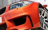 BMW 1 Series M Coupé air intakes