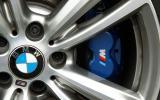 BMW M Sport brake calipers