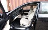 BMW 7 Series front seats