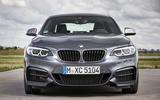 BMW M240i front end