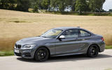 BMW M240i on the road