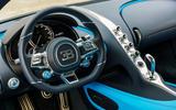 Bugatti Chiron dashboard