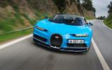 Bugatti Chiron front end