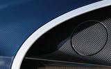Bugatti Chiron fuel cap
