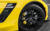 Corvette Z06 black alloy wheels