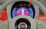 Fiat 500 instrument cluster