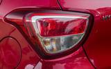 Hyundai i10 rear lights